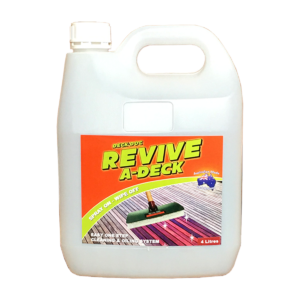 Deck doc oxalic acid for Revive deck cleaner
