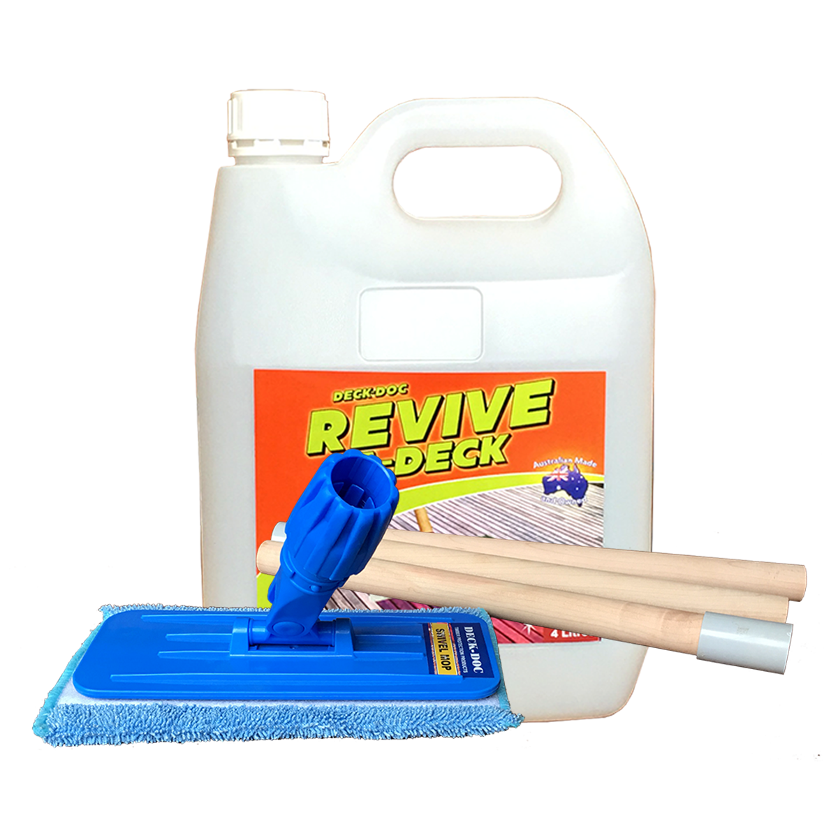 Deck doc revive a deck kit for Revive deck cleaner