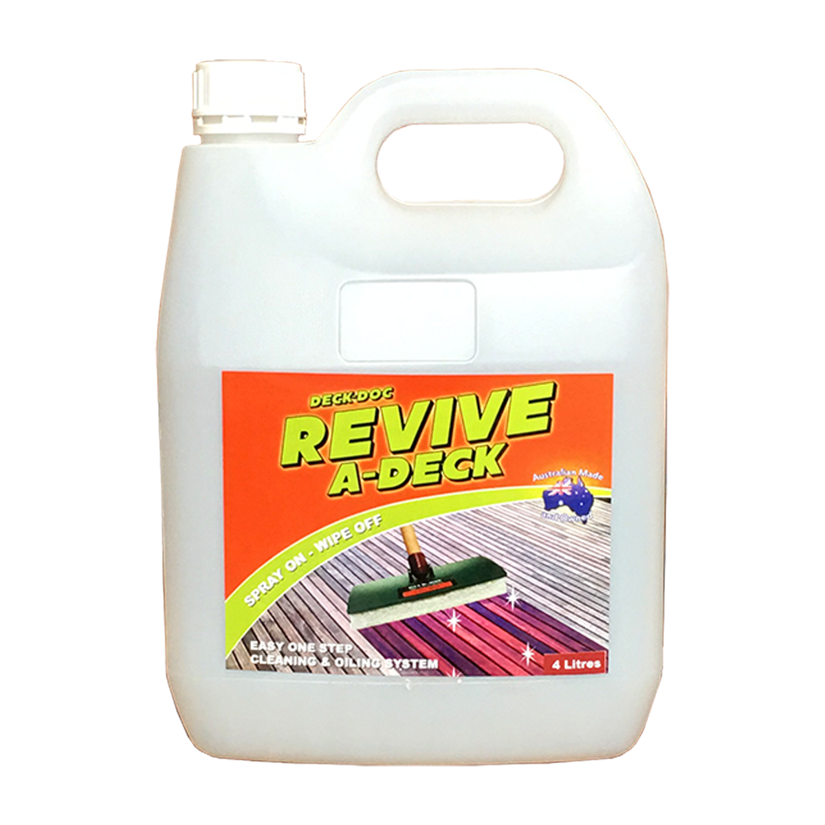 Deck doc cleaners for Revive deck cleaner